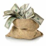 Мешочек с деньгами, заработок дома в интернете