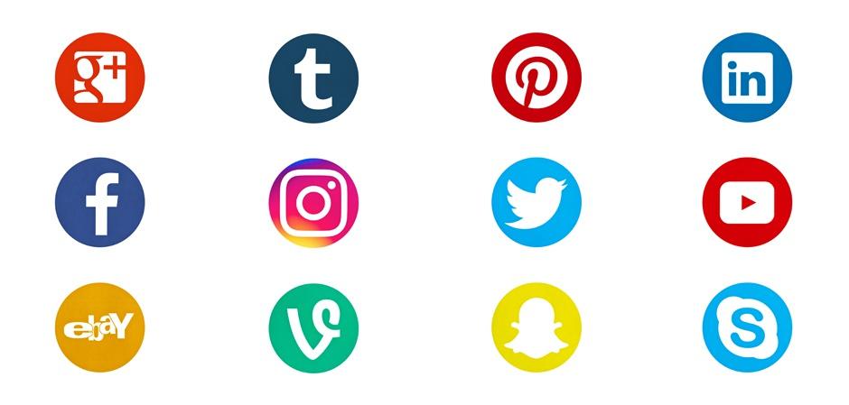 Эмблемы социальных сетей
