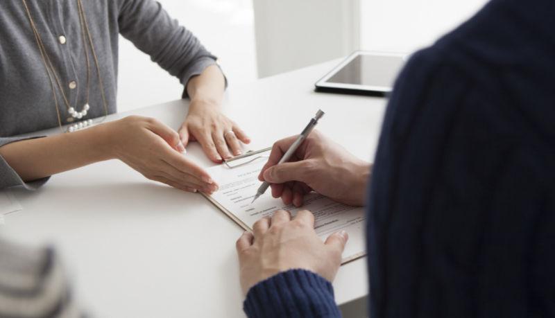 Оформление договора по кредиту